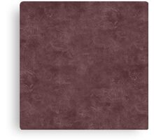 Deep Mahogany Oil Pastel Color Accent Canvas Print