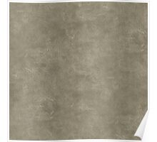 Desert Taupe Oil Pastel Color Accent Poster