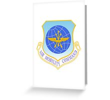 Air Mobility Command (AMC) Crest Greeting Card