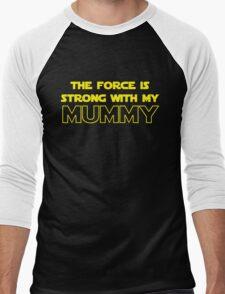 Mummy Force Men's Baseball ¾ T-Shirt