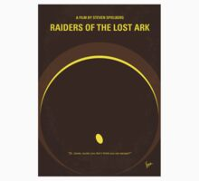 No068 My Raiders of the Lost Ark minimal movie poster T-Shirt