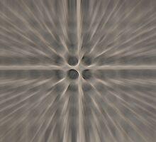 Black Dot Radial by jojobob