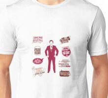 Anchorman Quotes - Funny T-Shirt - Movies - Films - Ron Burgundy Unisex T-Shirt