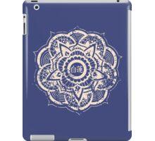 White Lotus (Blue) iPad Case/Skin