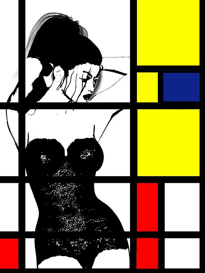 Mondrians Web by Shanina Conway