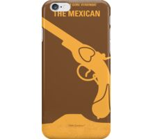 No077 My THE MEXICAN minimal movie poster iPhone Case/Skin