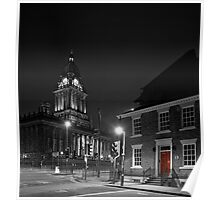 No 1 Park Place, Leeds and Leeds Town Hall Poster