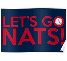 Let's Go Nats! Poster