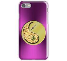 Sagittarius & Goat Yin Metal iPhone Case/Skin