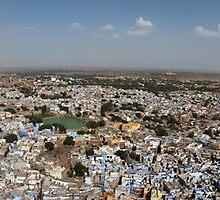 The Blue City Jodhpur by Tony Allen
