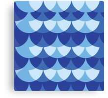 Summer scales Canvas Print