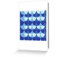 Summer scales Greeting Card