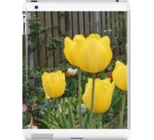 Garden Tulips iPad Case/Skin