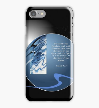 In The Beginning iPhone Case/Skin