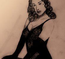 Dita Von Teese by Alice Weller