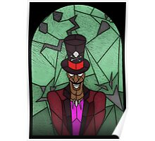 Dr Facilier - stained glass villains Poster