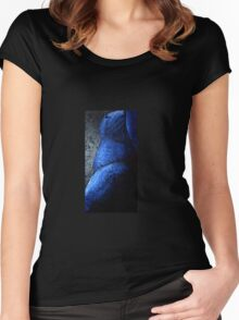 Blue Torso Women's Fitted Scoop T-Shirt