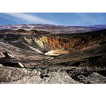 Ubehebe Crater Photographic Print