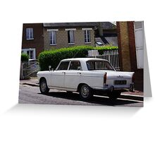 Old french car Greeting Card