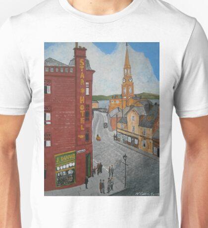 Old Port Glasgow Town Clock Unisex T-Shirt