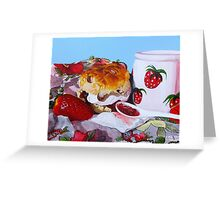 Strawberry Fare  Greeting Card
