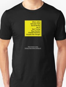 Artists and Drugs T-Shirt