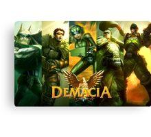 ¡For Demacia! Canvas Print