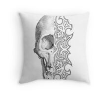Half Wit Throw Pillow