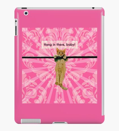 Hang In There Baby Kitten iPad Case/Skin