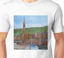 Old Port Glasgow Harbour Unisex T-Shirt