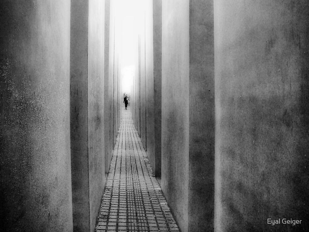 A Walk Through the Memorial by Eyal Geiger