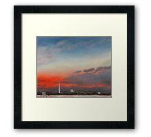Sunrise, 20 January 2009, Lee-Custis View Framed Print
