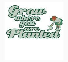 Grow where you are planted Kids Clothes