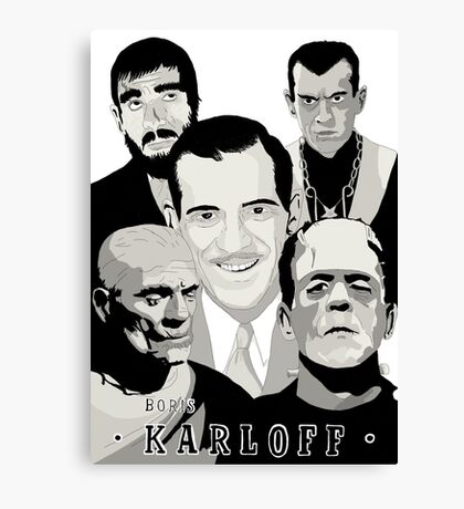 Boris Karloff Canvas Print