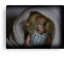 Doll Portrait 083 Canvas Print