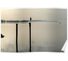 lake of constance morning mood Poster