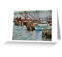 Boats at Rest- Nova Scotia Greeting Card