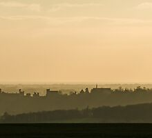 Arundel at Sunset by Sue Robinson