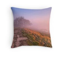 Morning Sea Mist Throw Pillow