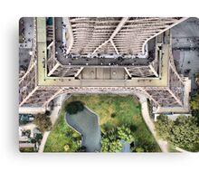 Vue de la Tour Eiffel II Canvas Print