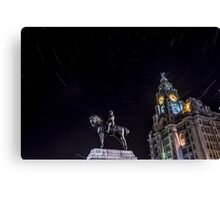 Stars in the City Canvas Print