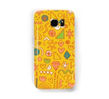 Busy Day Yellow Samsung Galaxy Case/Skin
