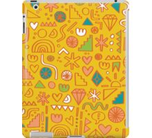 Busy Day Yellow iPad Case/Skin
