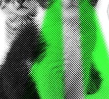 GreenEyes Sticker