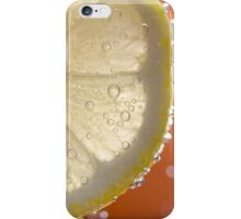 Bubbly Lemon - Orange iPhone Case/Skin