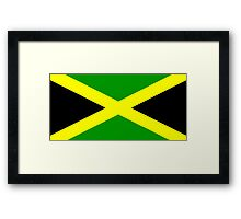 Flag of Jamaica Framed Print