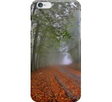 Mystic road on Pangeo mountain iPhone Case/Skin