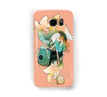 Thumbelina - Peach Samsung Galaxy Case/Skin