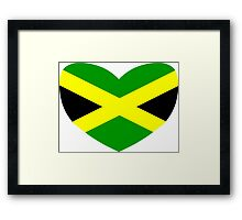 Love Jamaica Framed Print