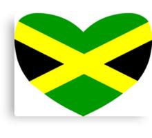 Love Jamaica Canvas Print